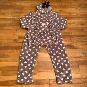 2/$25 - Cost Fleece Pyjama Set - Size S/M